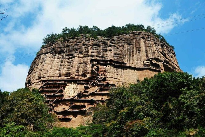 Today you will visit one of the famous Buddhist Grottoes in Tianshui Gansu China, it is listed on the UNESCO World Cultural Heritage, built in 384-417 AD with about 10632 clay sculptures and stone carvings, 221 Buddha caves, and 1300 square meters murals, famous for its exquisite clay sculpture art, and known as the Oriental Sculpture Art Exhibition Hall.<br>Then you will visit the Fuxi temple and one of the most famous scenic spot Daoism temple ,it is one of the famous ancient buildings in Northwest China. It was originally named Taihao palace, commonly known as Renzong temple, where Fuxi was worshipped. It is said that he is the ancestor of the Chinese people. The second day you will visit the Buddhism treasure house Water curtain (shuiliandong) cave the 2nd largest water curtain cave in Tianshui , built in 558A.D. in China's Northern Wei Dynasty. As magnificent Buddha statue was cut onto the cliff 43 meter high. <br>Pls book this tour 1 week ahead so we can find guide easily.<br>