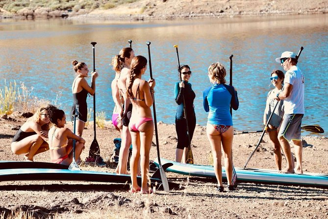Introduction to paddle surfing course on the beaches of southern Gran Canaria, Gran Canaria, ESPAÑA