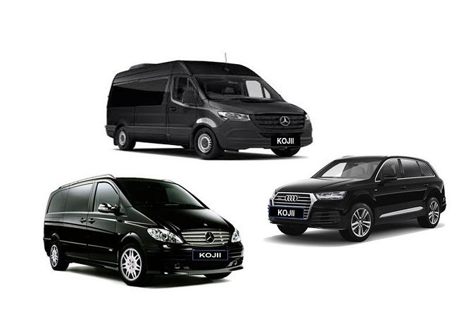 Organise stress free airport transport. Our driver will be there, waiting for your arrival. <br><br>Melbourne's 5 star service with reliable and professional drivers delivering transfers for individuals, families or corporate travelers.<br><br>Operating since 2013 Kojii and the team are luxury private transfer specialists. <br><br>The fleet consists of luxury European Sedans, SUV's, People Movers & Minibus. <br><br>Offering door to door convenience, we are family friendly with Baby Seat/Booster Seat hire available.<br><br>Bottled water and hand sanitiser provided <br><br>Vehicles are cleaned prior to each pick up with Covid safety measures in place<br><br>Free Cancellation up to 24 hours in advance <br><br>Instant Booking Confirmation <br>