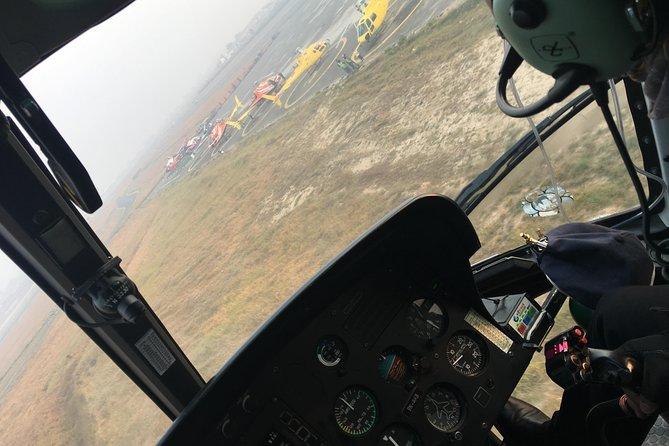 Helicopter flight to Annapurna base camp with landing, Pokhara, Nepal
