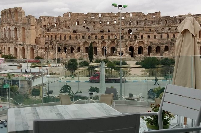 Safe drive, friendly professional tour guide, <br>Interesting visits, rich programme, <br>Sweet combination between roman's and arab's architecture.