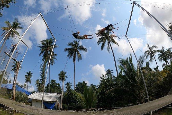 Fun Flying Trapeze Experience Group Class in Koh Tao Thailand, Ko Tao, Tailândia