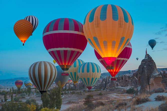Enjoy a unique hot air balloon flight over the fairy chimneys and rock cut churches. This exhilarating experience in Cappadocia is one of the best places around the world to fly with hot air balloons.