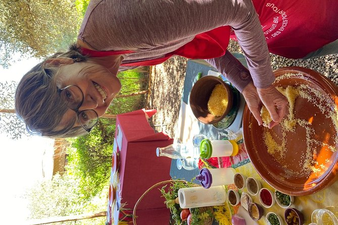 Organic Moroccan Cooking Class with chef TARIK, Marrakech, cidade de Marrocos, MARROCOS