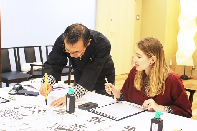 Become an expert calligrapher in this hands-on dynamic session near Tokyo Tower! <br><br>Here in Japan, calligraphy is more than just writing. We inherited our complex writing system from China over a thousand years' ago, and there's hundreds of years worth of story, evolution and meaning behind each character, and in turn, how we approach calligraphy. <br><br>Our professional, bilingual calligraphers teach you this fascinating history and more, equipping you with the skills and techniques that Japanese calligraphers have been perfecting for centuries. All in the confines of our state-of-the-art Grand TJT experiences room! All customers make their very own calligraphy wall piece, the perfect souvenir from your trip to Japan.