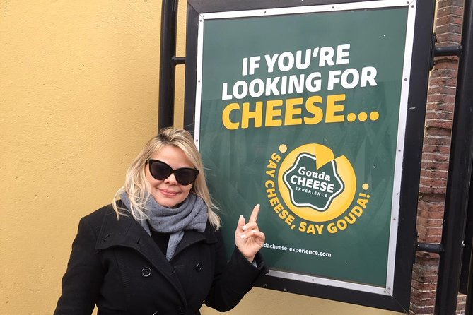 The Gouda Cheese Experience is a brand new day out. Starts from March 21st 2020. This is a full day Private Tour ! Max 4 pax. The price is per vehicle. Child seats available. A nice day out also for kids! Bottled water and syrup waffles available in the car for free!<br>Combined with going off the beaten tracks, you'll see the most amazing typical Dutch countryside that only the locals know. I am a born and raised Amsterdam guide. During this tour we also visit an authentic (non tourist trap) cheesefarm and see (pass by some) non touristy windmills (free entrance/visit inside) on Saturday. The kids (adults too:-) can have a meet and greet with the cows, we can drink a fresh unpasteurized cold milk straight from the cow, see the barn (cow shed inside) and you can taste and buy the best tasting cheese that you've ever had. The cheesefarm we visit is a Dutch cup winner!