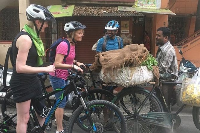 """Waking up to Bengaluru on the """"Good Morning Bengaluru"""" cycling trail is a treat for a traveller seeking beyond the ordinary. This trail is an ideal opportunity to step out before the humdrum of the city begins, and you will witness the quaint old quarters of the city that is beyond the IT parks. Try the best coffee in town, witness the traditional art of """"Rangoli"""" (Mandalas), visit an urban dairy and sample delicious breakfast treats in iconic restaurants. Not just that, you will also experience the cultural significance of prayers in an ancient cave temple, connect with the locals and understand our way of life on a delightful morning every day of the week."""