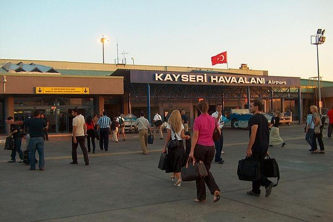 Private Departure Transfer from Cappadocia to Kayseri Airport (ASR), Goreme, Turkey