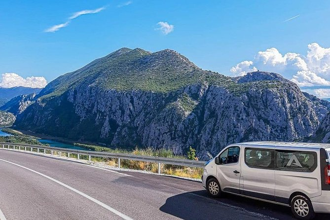 You will choose your own pick-up time and pick-up location, and the brand new van will come to pick you up to Makarska, and take you to Split Airport, no matter if you are traveling from hotel, hostel or private accommodation. Your professional - English speaking driver will welcome you at desired location, holding a board with your name. Your transfer from Makarska to Split Airport will be tailored according to your preferences. The journey from Makarska to Split Airport is taking about one hour and thirty minutes via coastal route, so take your time to enjoy beautiful scenery along the coast, because this is the best way to travel from Makarska to Split Airport.