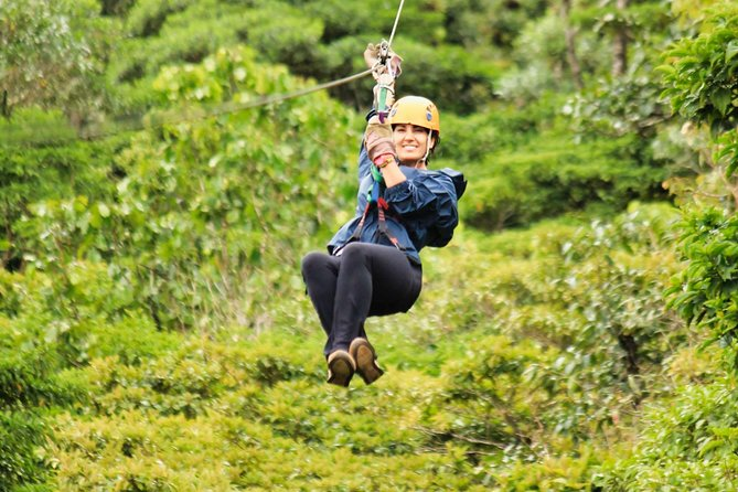 Soar through the air with the greatest of ease in this 3-hour Superman Zipline canopy tour through Selvatura Park.