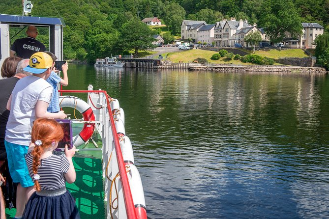 Explore the remote eastern shore of Loch Lomond spending as much time ashore as you wish to take in dramatic views of the Arklet Waterfalls and Loch Lomond; refreshments and lunch available at Inversnaid Hotel or Bunkhouse.. You have a choice of return cruise times back to Tarbet.