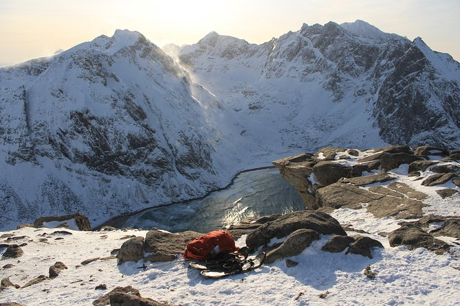 We will visit the famous and breathtaking mountain top, called Ryten in Moskenes municipality in Lofoten.