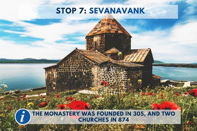 Regular Cultural & Gastronomic Tour: Garni, Geghard, Lake Sevan, Sevanavank, Yerevan, Armenia