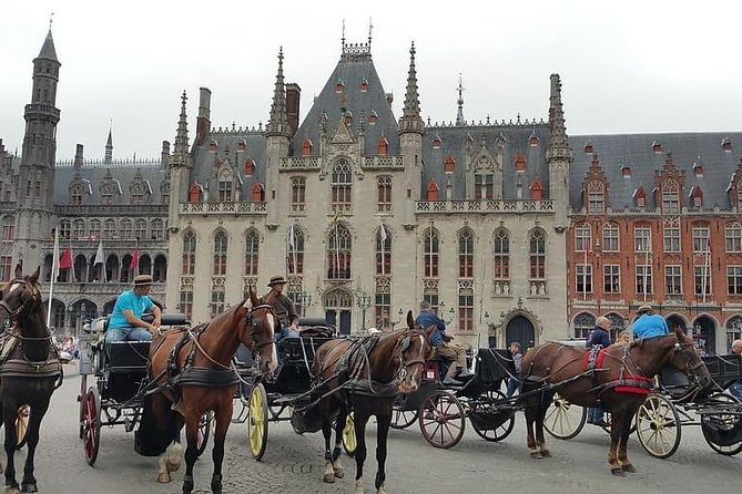 Private 10-hour Tour to Ghent and Bruges from Brussels with Hotel Pick Up, Bruselas, BELGICA