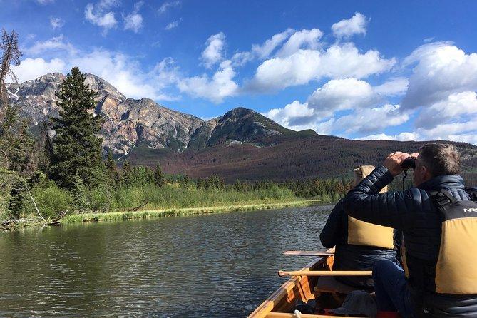 Wild Current Canoe Adventure at Pyramid Lake, Jasper, CANADA