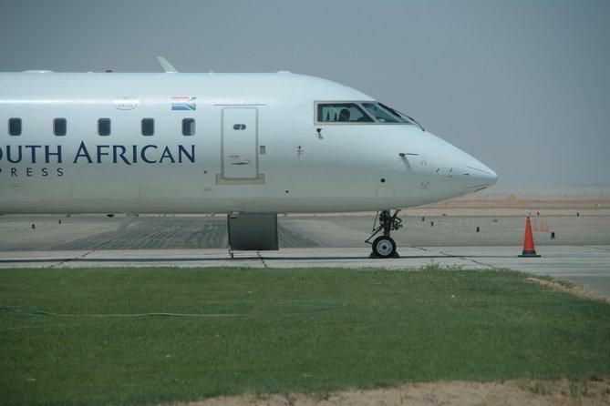 Transfer: Walvis Bay Airport, Walvis Bay, Namíbia