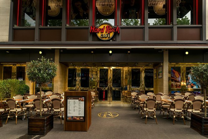Evite as filas: Hard Rock Cafe Paris, incluindo refeição, Paris, França