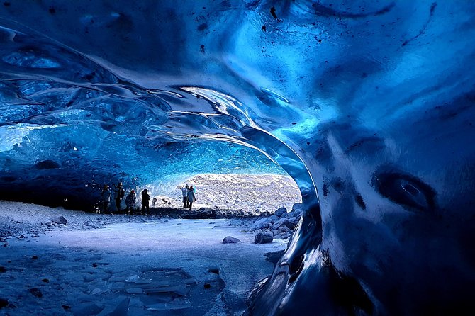 Welcome to our ice cave tour to the magnificent Vatnajökull. In this tour we will visit the best ice cave/mulans/carves available each time, but the caves are natural phenomenons so they are always changing within the season. <br>We have max 10 people in a car and our guides are all local and have good knowledge of the area. We are a small company that pride our selves in good and personal service.