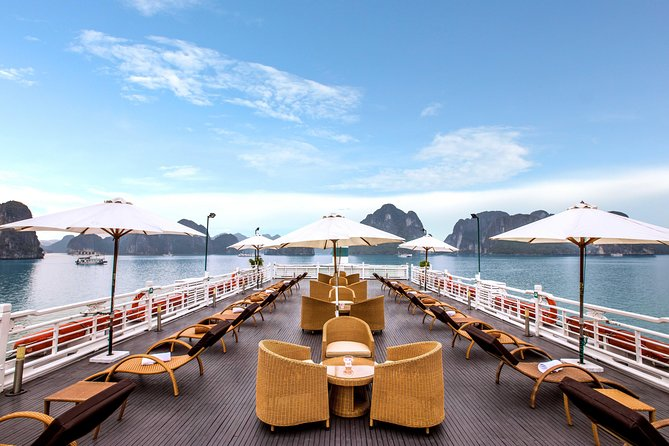 The Au Co 3-Day Halong Bay and Gulf of Tonkin Cruise From Hanoi, Halong Bay, VIETNAM