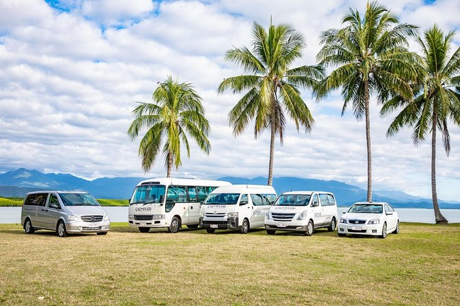 The regions' longest established provider of airport transfers: founded 1993.<br> 100% locally owned and operated by a husband and wife couple whose family roots in Port Douglas go back to 1967.<br> A stand-alone company: not an alliance, cooperative, or association of independent suppliers