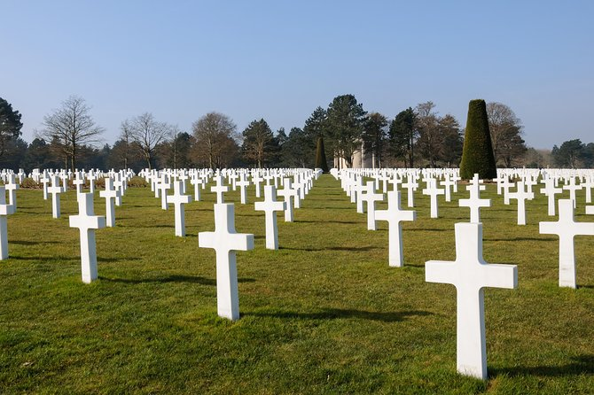 Private 8/9 hour tour to US Landing Beaches from Le Havre with driver/guide, El Havre, França