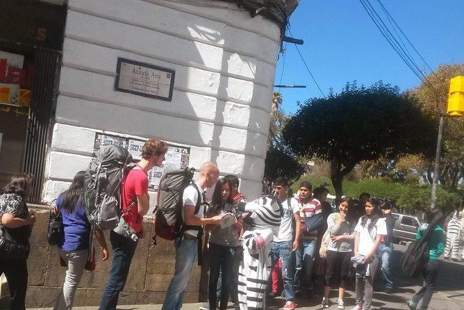 Sucre walking tour, Sucre, BOLIVIA