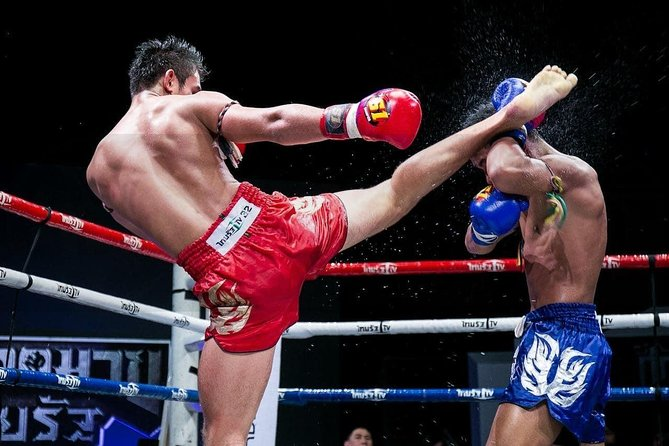 Few national sports are more highly revered than Muay Thai, and no other type of martial arts is as entertaining and thrilling to watch in person. This tour takes you to the biggest stadium in Southern Thailand to experience the spectacle and amazing atmosphere that is real Muay Thai kickboxing.