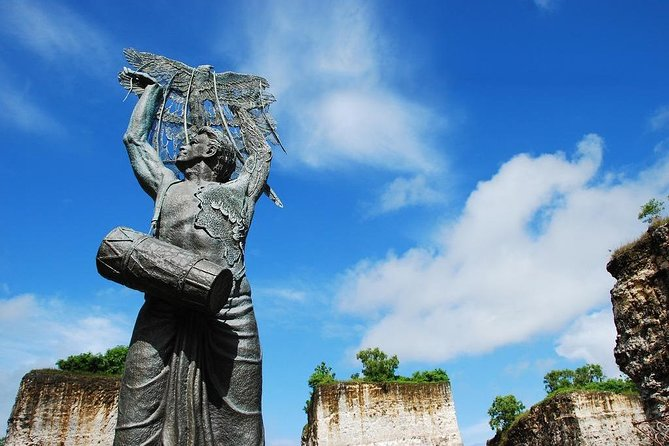 Head on to the Garuda Wisnu Kencana (GWK) Cultural Park to visit one of Bali's greatest cultural icon! Witness the lavish Indonesian heritage and see the grandeur of the statue of Lord Vishnu riding a great Garuda, designed to be one of the largest and highest monument's statue in the world. <br><br>★ Opening Hours: 8:00 am-9:00 pm, daily. Last admission: 8:00 pm<br><br>★ Please remember to bring the original passport to the ticket gate, use the e-voucher (We will send you a separate email with the voucher) to exchange for a physical ticket. <br><br>★ Address: Jl. Raya Uluwatu, Ungasan, Kuta Selatan, Badung 80364, Bali-Indonesia<br><br>★ Free Admission: Children under 100cm can enter the park for free<br><br>★ Discount Ticket: Child ticket: Height of children between 100cm-130cm<br><br>★ Validity:<br>Voucher is valid for 7 days from the date selected<br>Please show your voucher at the Plaza Bhagawan to redeem your ticket