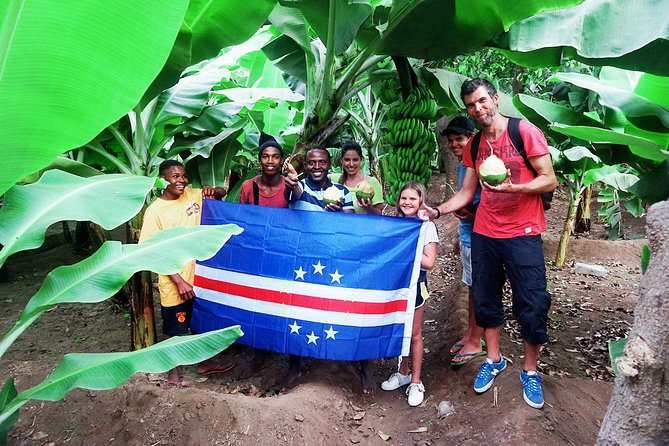 Visit Cape Verde's Largest Banana and Cocunut Plantation<br>Explore the Botanical Garden in São Jorge<br>Visit local rum destilary<br>Have a lunch in the top of Rui Vaz Mountain<br>Visit the Natural Park of Monte Txota <br>Have opportunity to take photos of the Volcano of Fogo Island<br>