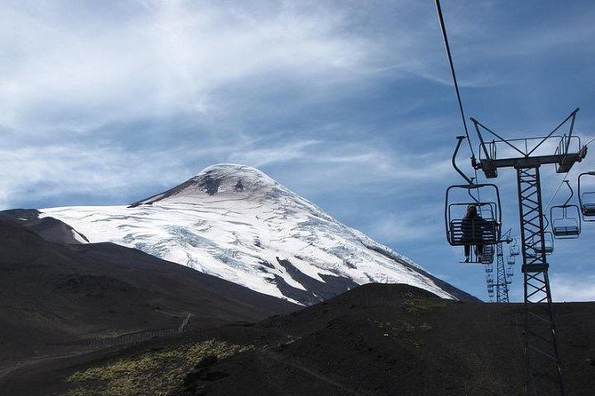 Enjoy the best of southern Chile in this excursion. A guide will meet you at your cruise port or hotel and take you on the excursion. You will visit the famous Volcano Osorno ski resort and get breathtaking views of Llanquihue Lake and Volcano Calbuco all the way from the top. You can take the ski lift which operates year round if you don't feel like walking. For lunch time, while enjoying the view, <br><br>indulge in a picnic style lunch (complimentary) of baked beef Chilean empanada with glass of red and white wine. After this, head back south to explore the German town of Puerto Varas better known as the city of roses. If time allows, on the way back we will go visit some friendly llamas and alpacas that love to be fed.