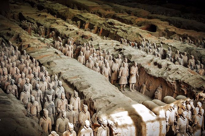 Private Lanzhou Bullet Train Trip to Xi'an: Terracotta Warriors and City Wall, Lanzhou, CHINA