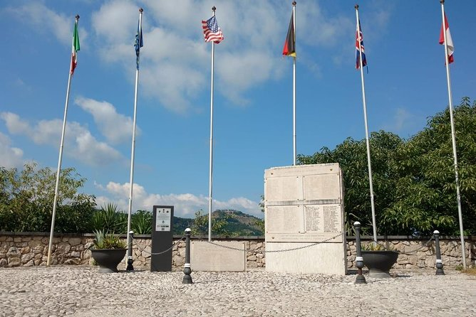 WWII BATTLEFIELDS: Battle of Montecassino and Rapido River from Rome, Gaeta, ITALIA