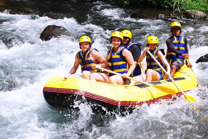 Telaga Waja Rafting and Bali ATV Ride Packages is one of the best activity that we designed for your great experience in Bali Island. The tour will be start at 08.00 AM from your hotel then our driver will take you to Telaga Waja River location, the river offer mix of difficulties with rapids class from class 3 to class 4, this will create some unique challenge on certain part of the river and you can enjoy your raft flow on the rapids while enjoy the beauty of the scenery. After the rafting finish and you enjoy your lunch at rafting restaurant, then we will drive you to Ubud where you will enjoy two hours Bali ATV Riding. The adventure will take you to an amazing experience riding on all-terrain vehicles (quad bike) with long and challenging track trough the rice fields, jungle, rivers, and natural Bali traditional village that are not monotone. It's safe and suitable for beginner and professional, the tour will be very comfortable with our private air conditioning car transfer.