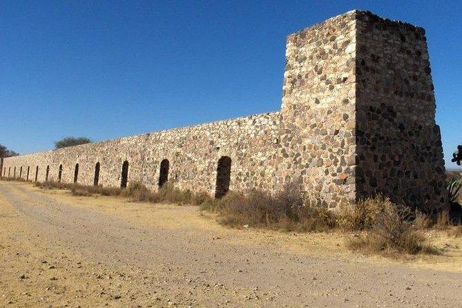 The mining town Pozos, San Miguel de Allende, MÉXICO