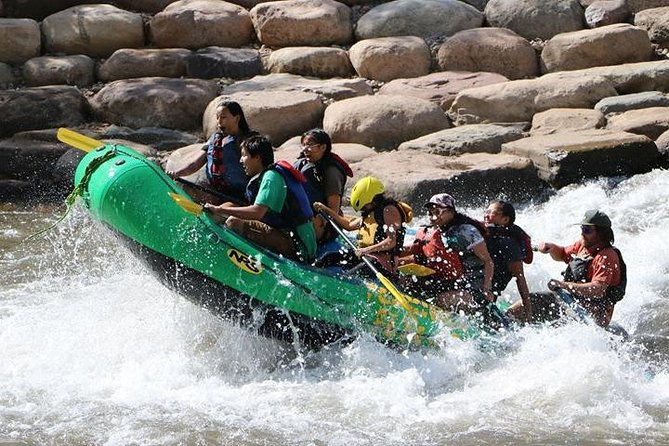 Best safety record!<br>Most EXPERIENCED, QUALIFIED, FUN guides<br>Rafting Durango since 1983<br>GREAT PRICES!<br><br>Our guides are certified by the State of Colorado, and are CPR and First Aid certified (insert this after the line about guides)<br><br>Wet suits and splash gear provided FREE of charge, as opposed to EVERY other rafting company in Durango<br>Free, onsite parking<br>Free shuttle service<br>Photo service<br>Right on the beautiful Animas river in downtown Durango<br>Come raft with us for the most fun you can have in Durango<br>WE'RE FUN! WE'RE FAMILY! WE'RE FLEXIBLE! WE'RE FLEXIBLE FLYERS!<br>If you forgot your sunscreen, we'll even help you out with that free of charge!