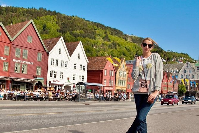 Get a taste and feel of Bergen on this extended 5-hour city sightseeing tour run by a professional driver-guide in a comfortable car. We will be stopping at the main sights in the centre of Bergen. We will also visit some of the sights and museums located outside city centre.<br><br>There are 4 options that you can choose from. Please, see the tour delails.<br><br>Car on this tour is one of our Mercedes minivans. When only 3 people are going on this tour, we may use our Tesla Model X. All of our cars have Passenger Transport Licence. We have also shorter options available: 2.5-, 3- and 4-hour sightseeing tours in Bergen.