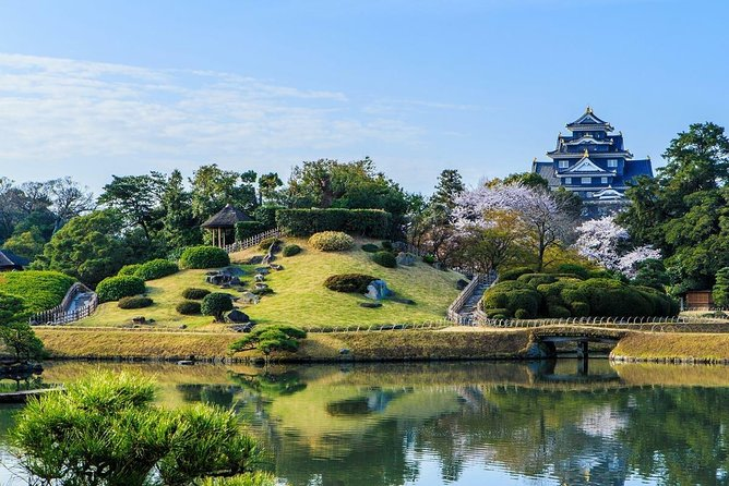 This value-packed trip with a nationally-licensed and experienced multilingual tour guide is a fantastic and efficient way to explore Okayama!<br><br>The jewel of Okayama City is Korakuen Garden, considered one of Japan's top three gardens. You can enjoy pink cherry blossoms in the spring, multi-colored maple trees in autumn, and the crow-black exterior of nearby Okayama Castle all year. Okayama also serves as a transportation hub, linking the Shinkansen to rail service on Shikoku Island.<br><br>Let us know what you would like to experience and we will customize a six-hour tour that's best for you!<br><br>Note*1: Please select your must-see spots from a list in the tour information to create your customized itinerary.<br>Note*2: The Nationally-licensed Tour Guide-Interpreter certification is issued by the Japanese government requires a good knowledge and understanding of Japanese culture and history.