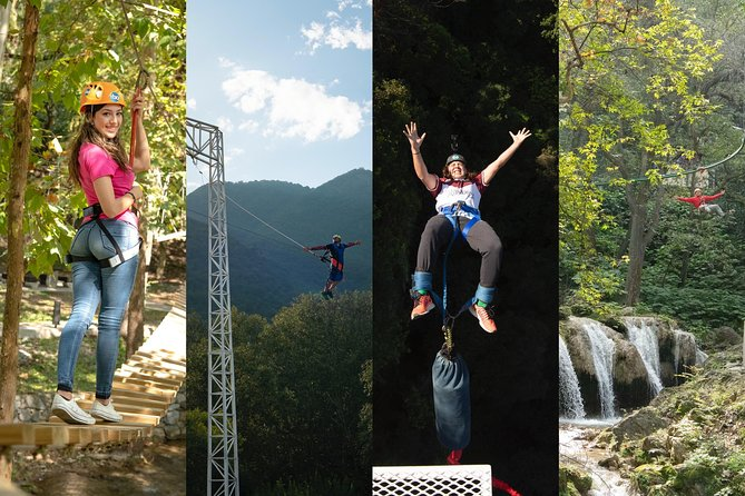 Adventure in Cola de Caballo Park all included, Monterrey, MÉXICO