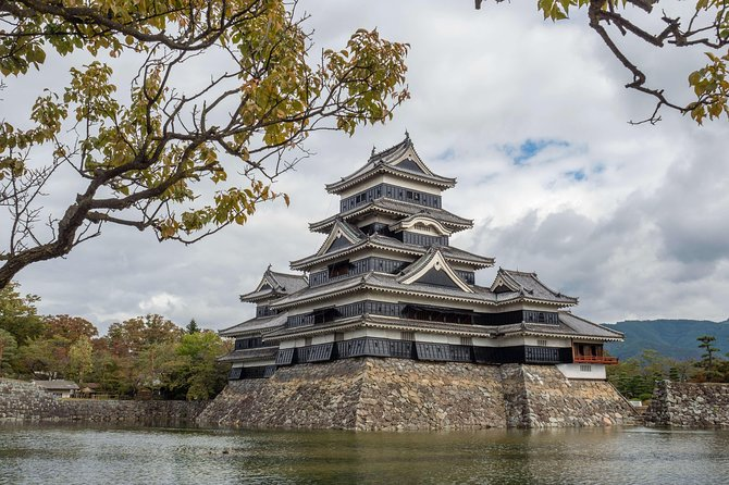 """Explore Matsumoto at your own pace and to your own interests on this full-day private guided tour. Visit Matsumoto Castle, one of Japan's best-preserved castles, thenexplore surrounding streets, includingquirky""""Frog Street,"""" known for its abundance of frog products. Afterward, visit tranquil Hotaka Town, home to Japan's largest wasabi farmwhere you can try wasabi ice-cream and visit nearby Hotaka Shrine."""