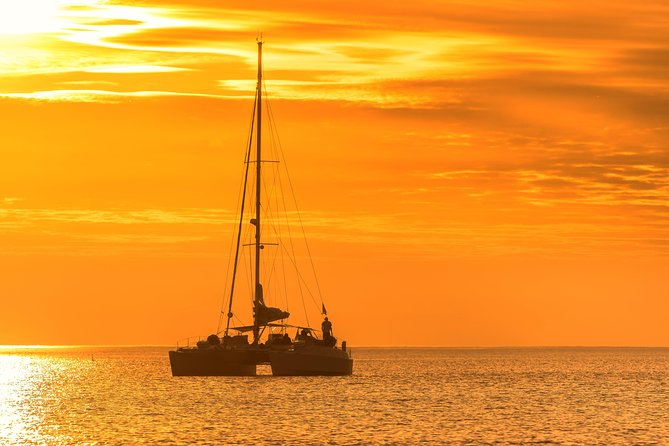 Atardecer Catamaran, Roatan, HONDURAS