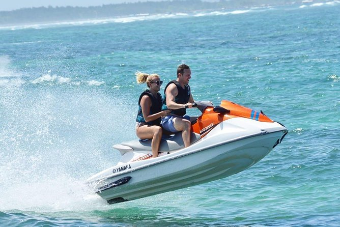 Experianced Luxury Jetsky water sport In Tanjung benoa Beach Bali<br>Get Ready and listen safety briefing, receive protective equipment such as a helmet life jacket and then ride your jet ski.