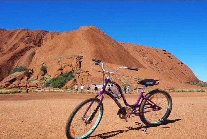 From Yulara: Discover Uluru Half Day Bike Tour, Ayers Rock, AUSTRALIA