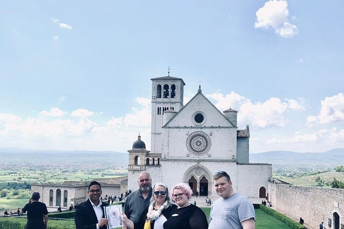 Assisi and Perugia with Lunch&WineTasting Fullday from Rome, Perugia, Itália