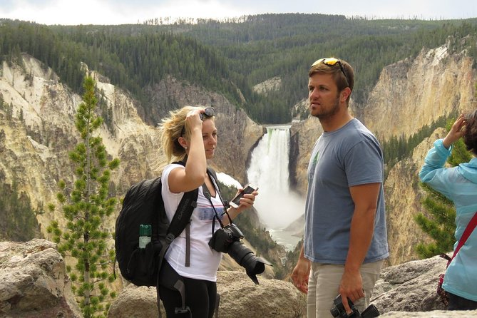 Explore Yellowstone on a8-9 hour tour with a local guide. Set out fromWest Yellowstone or Island Park, MTarea to experience America's first national park. See its iconic Old Faithful, marvel at the Grand Canyon Waterfalls, and search for wildlife including grizzlies, bison, grey wolves, and more. This tour includes both a light breakfast, lunch and park entrance fees, as well as theuse of binoculars.