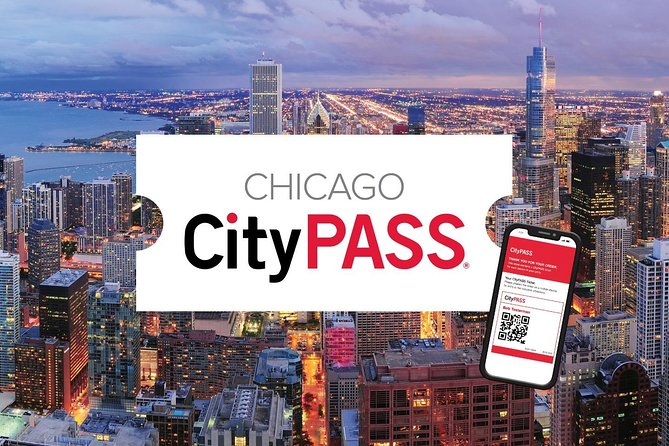 Chicago CityPASS® — Discover Chicago's best attractions at one great price with an easy to use mobile ticket. Spend less, experience more. <br><br>Includes premium admission to 5 must-see attractions:<br> • Shedd Aquarium<br> • Skydeck Chicago<br> • Field Museum<br> • Option Ticket 1: Adler Planetarium OR Art Institute of Chicago<br> • Option Ticket 2: Museum of Science and Industry, Chicago, OR 360 CHICAGO Observation Deck<br><br>Visit the CityPASS online travel guide for up-to-date attraction information including reservations, entry instructions, hours of operation and helpful tips to plan your visit: https://www.citypass.com/guide/chicago/howto