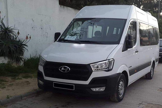 MÁS FOTOS, Tunis private minibus arrival & departure airport transfer to Skanes