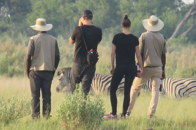 In the early morning we pick you at your hotel or lodge or the airport in Maun. The tour starts at 07:30h with a 1h speedboat cruise to the Buffalo Fence. Because of dryseason or other circumstances we might drive you in a 4×4 vehicle.<br>At the buffalo fence you meet your poler, who will take you on an unforgettable journey through the channels of the Okavango. Born and raised in the Okavango Delta, our polers and guides show you their home which they are very pationate and knowledgable about.<br>Our experienced polers take you on a journey deep in the watersystem. Enjoy the peace of the delta in a Mokoro, the traditional onetree-canoe. At lunch time we stop for a picnic meal on one of the islands before your guide takes you on an nature walk where we hope to see more animals and learn about the delta its plants, animals and the tribes living here.<br>Feel the peace and spirit of the Okavango while watching hippos and elephants swim.<br>Before sunset you are back in Maun.<br><br>2 people per canoe