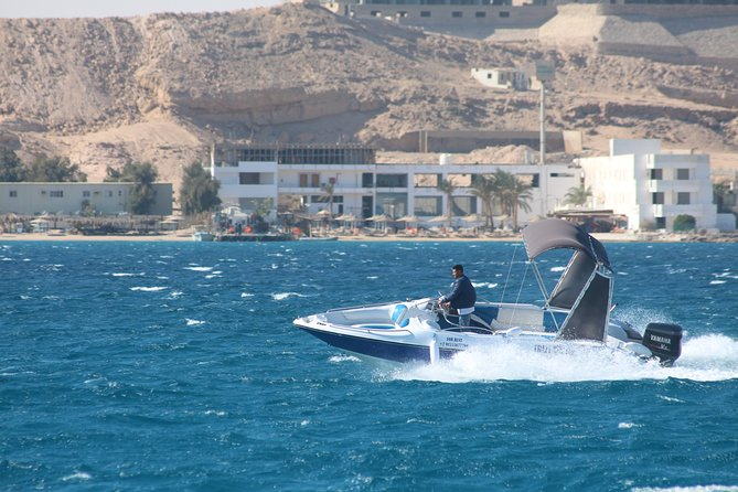 You will Enjoy a 3 hours trip with a lovely speed boat in a semi private trip, Maximum pax is 8 persons, You don't have to go with large boat to swim with dolphin you will easily move at the water with a small group with you to enjoy the best way you can without paying private boat rate, Spending one hour on Paradise Island and snorkeling at the most beautiful coral sites