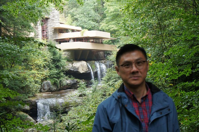 Fallingwater stands as one of the greatest architectural triumphs of the 20th Century. There simply is no other building like it on Planet Earth. This Masterpiece was recently selected as one of Architecture's Bucket-list inclusions. Pittsburgh's Best Tour Guide will take you to its location astride Bear Run in the Laurel Highlands of the Allegheny Mountains. Along the way you will learn the story of its architect Frank Lloyd Wright, the background of its patron Edgar Kaufmann, and the serendipity which brought it all together.
