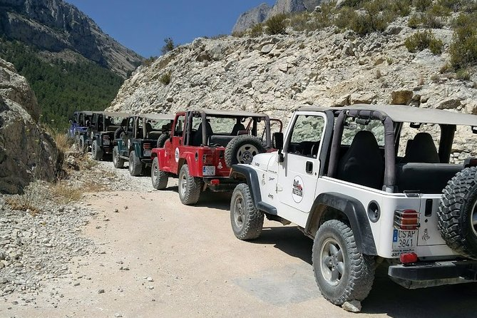3 Hour Real Off Road Self Drive in an open Jeep Wrangler You experience the smells and feel the freedom off the mountains.